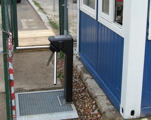 Attendance system with turnstile